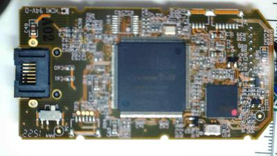 Bottom of D2CIM-DVUSB board