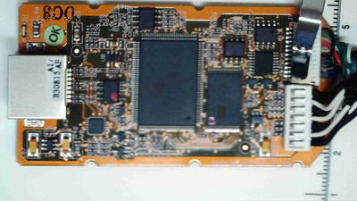 Top of D2CIM-DVUSB board